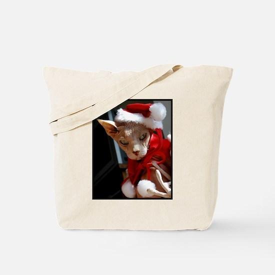 xmas_cat.jpg Tote Bag