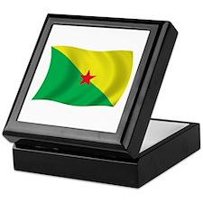 French Guiana Liberation Flag Keepsake Box