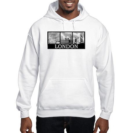 London gray Hooded Sweatshirt