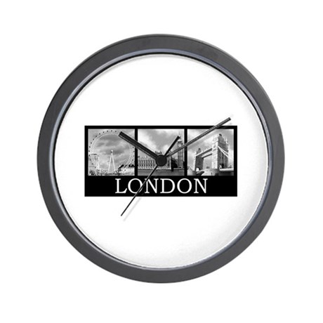 London gray Wall Clock