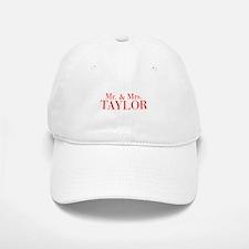 Mr Mrs TAYLOR-bod red Baseball Baseball Baseball Cap