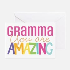 Gramma amazing quote Greeting Cards