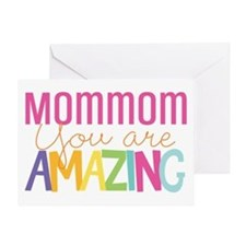 MomMom amazing quote Greeting Cards