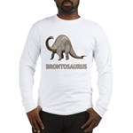 Brontosaurus Long Sleeve T-Shirt
