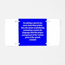 35.png Aluminum License Plate
