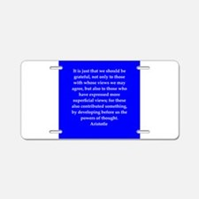 38.png Aluminum License Plate