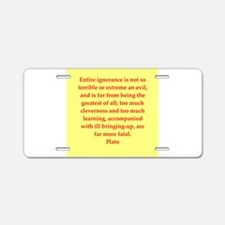 15.png Aluminum License Plate