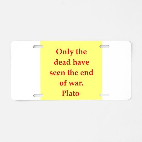 50.png Aluminum License Plate