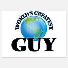 World's Greatest Guy Invitations
