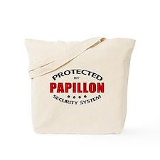 Papillon Security Tote Bag