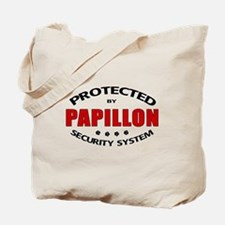 Papillon Security Tote Bag