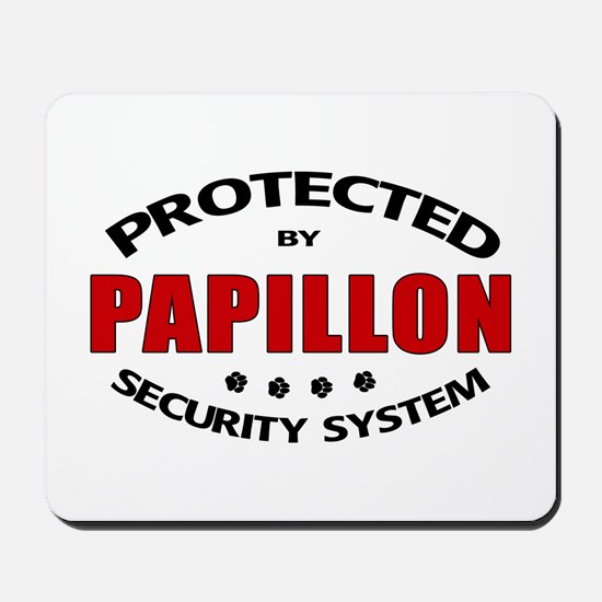 Papillon Security Mousepad