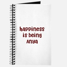 happiness is being Anya Journal