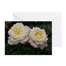 White Roses Greeting Cards (Pk of 10)