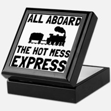 Hot Mess Express Keepsake Box