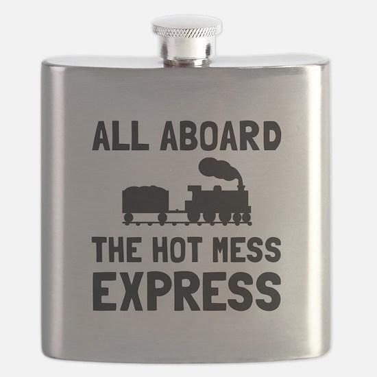 Hot Mess Express Flask