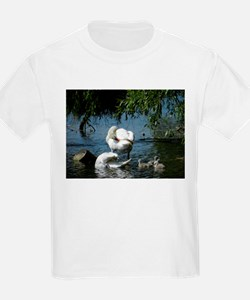Swan and Cygnets T-Shirt
