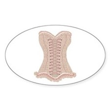 Corset pink Lacy with Bows Decal