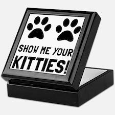 Show Me Your Kitties Keepsake Box