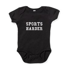 Sports Harder Baby Bodysuit