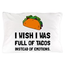 Tacos Emotions Pillow Case