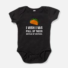 Tacos Emotions Baby Bodysuit