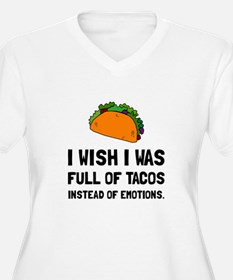 Tacos Emotions Plus Size T-Shirt