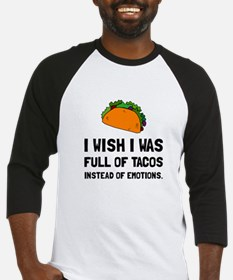 Tacos Emotions Baseball Jersey