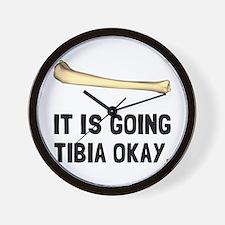 Tibia Okay Wall Clock
