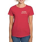 Hugged Balalaika Player Women's Dark T-Shirt