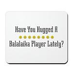 Hugged Balalaika Player Mousepad