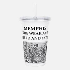 memohis,tennessee Acrylic Double-wall Tumbler