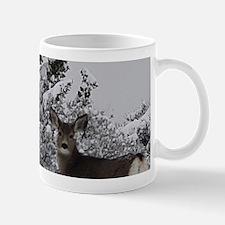 Mule Deer in the Oregon Snow Mugs