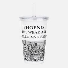 phoenix Acrylic Double-wall Tumbler