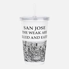 san jose Acrylic Double-wall Tumbler