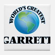 World's Greatest Garrett Tile Coaster