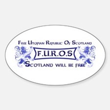 FUROS Banner Decal