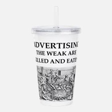 advertising Acrylic Double-wall Tumbler