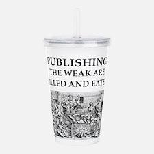 PUBLISH.ing Acrylic Double-wall Tumbler