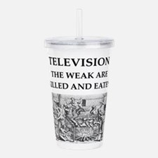 television Acrylic Double-wall Tumbler