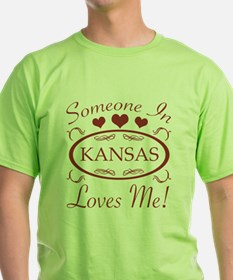 Somebody In Kansas T-Shirt