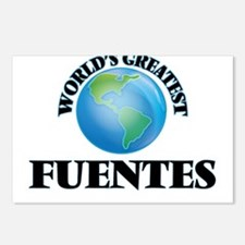World's Greatest Fuentes Postcards (Package of 8)