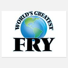 World's Greatest Fry Invitations
