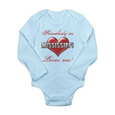 Somebody In Mississippi Loves Me Body Suit