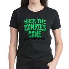When The Zombies Come I'm So  Tee