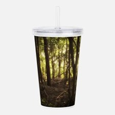 Sunlit Forest Acrylic Double-wall Tumbler