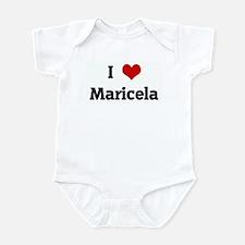 I Love Maricela Infant Bodysuit