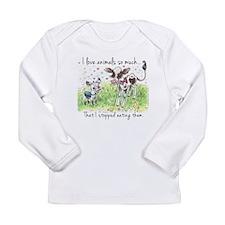 I love animals so much... Long Sleeve T-Shirt