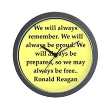 reagan21.png Wall Clock