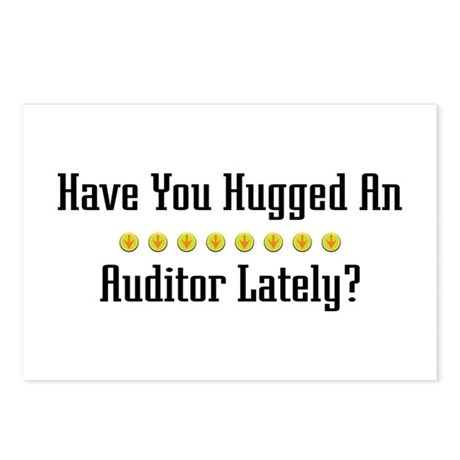 Hugged Auditor Postcards (Package of 8)